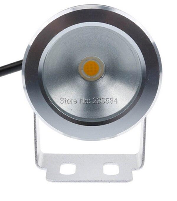 Светящиеся белый IP68 Подводное Свет 12 В 10 Вт 930lm аквариум, фонтан, пруд прожектор с алюминиевым устойчивы к коррозии