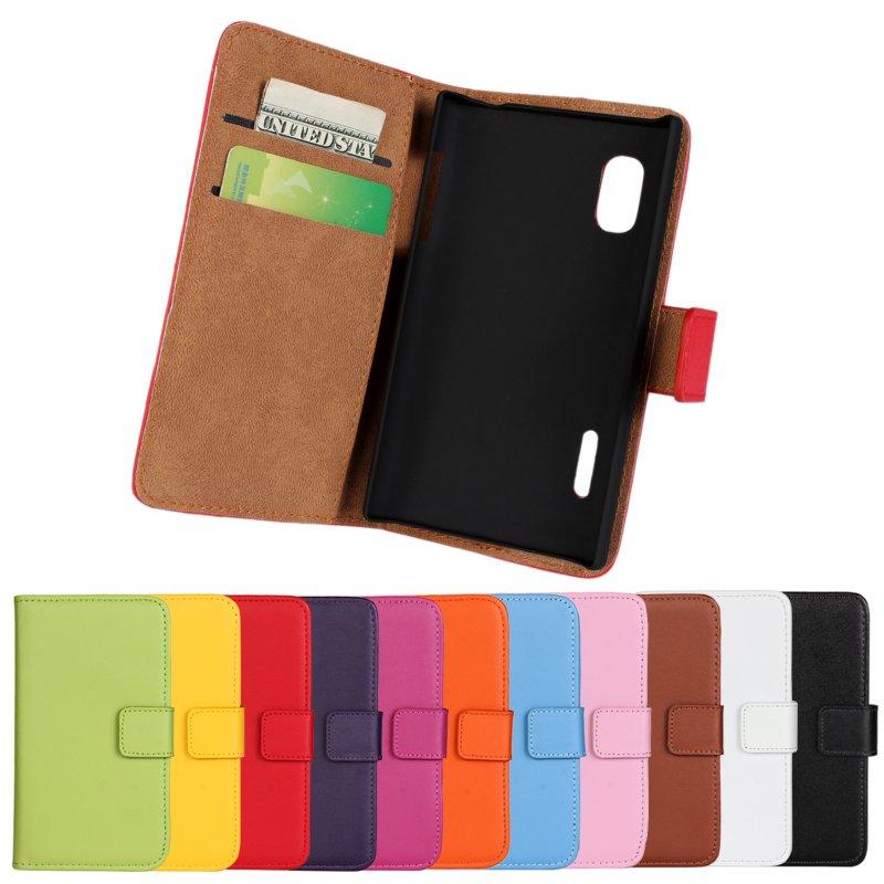 Flip-Cover-Shell Mobile-Phone-Bag-Accessory Lgoptimusl5 E610 E612 Case Wallet For Capinhas