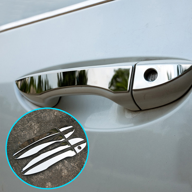 Toyota Corolla Altis 2014-up outside trim door handle cover chrome-LHD