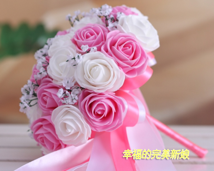2017 Bridal Bridesmaid Wedding Bouquet Cheap New Arrival