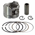 Bore Size 48.50mm Motorcycle Pistons and Rings Clips Pin Kit For HONDA CB250 Jade 250 Hornet 250 MC23 (standard)