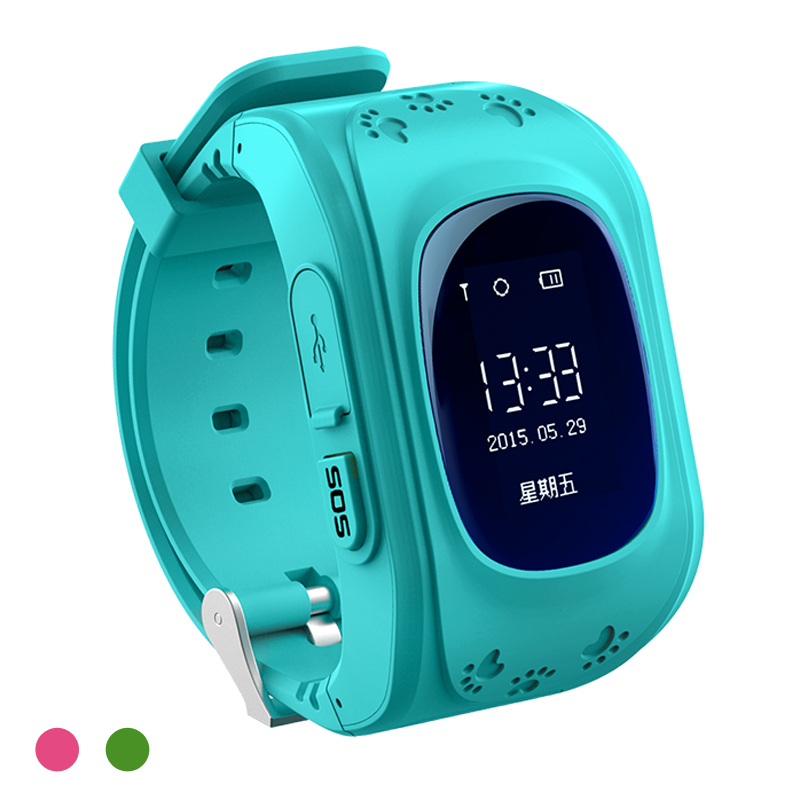 Kids GPS Tracking Watch Q50 New Smartwatch Support SIM Voice Chatting Electronic