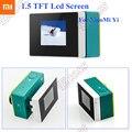Xiaomi yi xiaoyi ação esporte câmera tela de 1.5 tft a cores de tela externa tela lcd para xiaomi yi acessórios