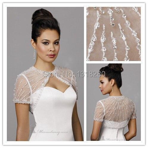 Bright Luxury 75cm Black Ostrich Feather Wedding Fur Boleros Cape 2018 Hip Length Bridal Jackets For Evening Dress Wedding Accessories Wedding Jackets / Wrap
