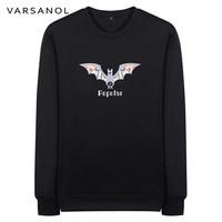 Varsanol Brand Sweatshirts Men S Clothing Casual Slim Coat Long Sleeve Outerwear O Neck Printed Pullovers