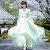 2018 Spring New Korean Version E Broidery Women S Retro Long Sleeve Fair Very Good Quality