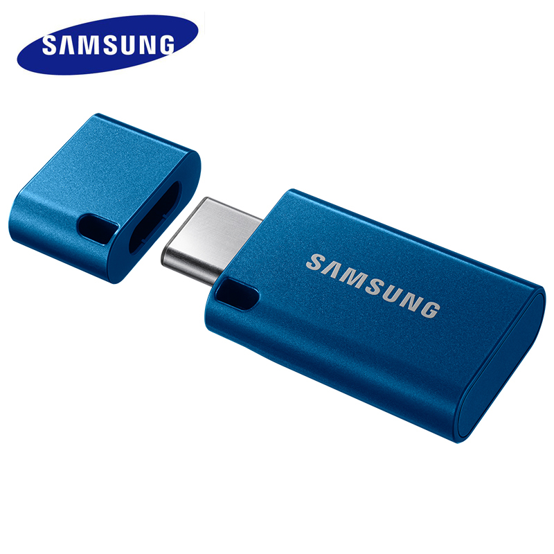 SAMSUNG USB Flash Drive 64G USB3.1 Mini Rectangle Flash Disk Type-c up to150MB/s Plastic U Disk For PC Notebook Phone U drive u s all for paws afp