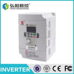 FULING frequency inverter of 220v 1.5kw VFD Variable Frequency Drive VFD Inverter 1HP or 3HP Input 3HP frequency inverter