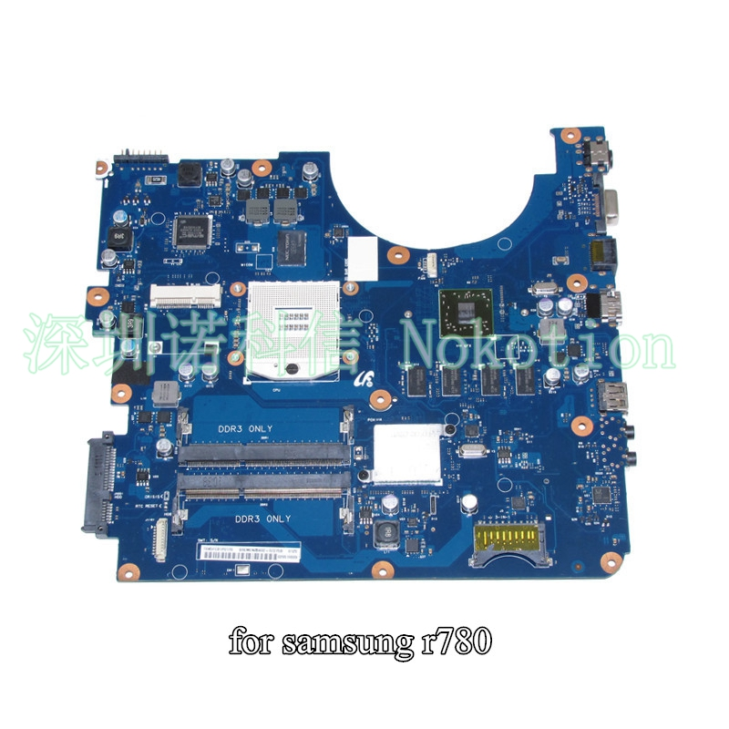 все цены на NOKOTION BA41-01401A BA41-01403A BA92-07275A BA92-07275B For samsung R780 laptop motherboard HM55 DDR3 ATI 4500 онлайн