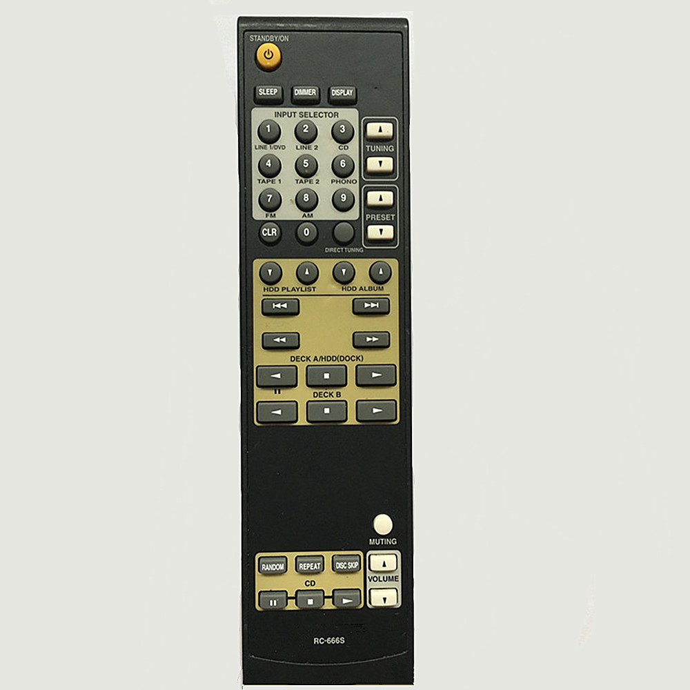 New remote control for onkyo Amplifier remote controller RC-666S TX-8222 TX-8255 replace remote control rc 799m for av receiver remote for onkyo tx nr616 tx nr626 ht s5400 ht s5500 av receiver