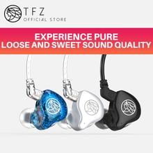 TFZ/новое обновление T1s Hifi наушники, индивидуальные Dynamic 3,5 мм монитор наушники, не-переменчивый кабель, Применение второго поколения блок
