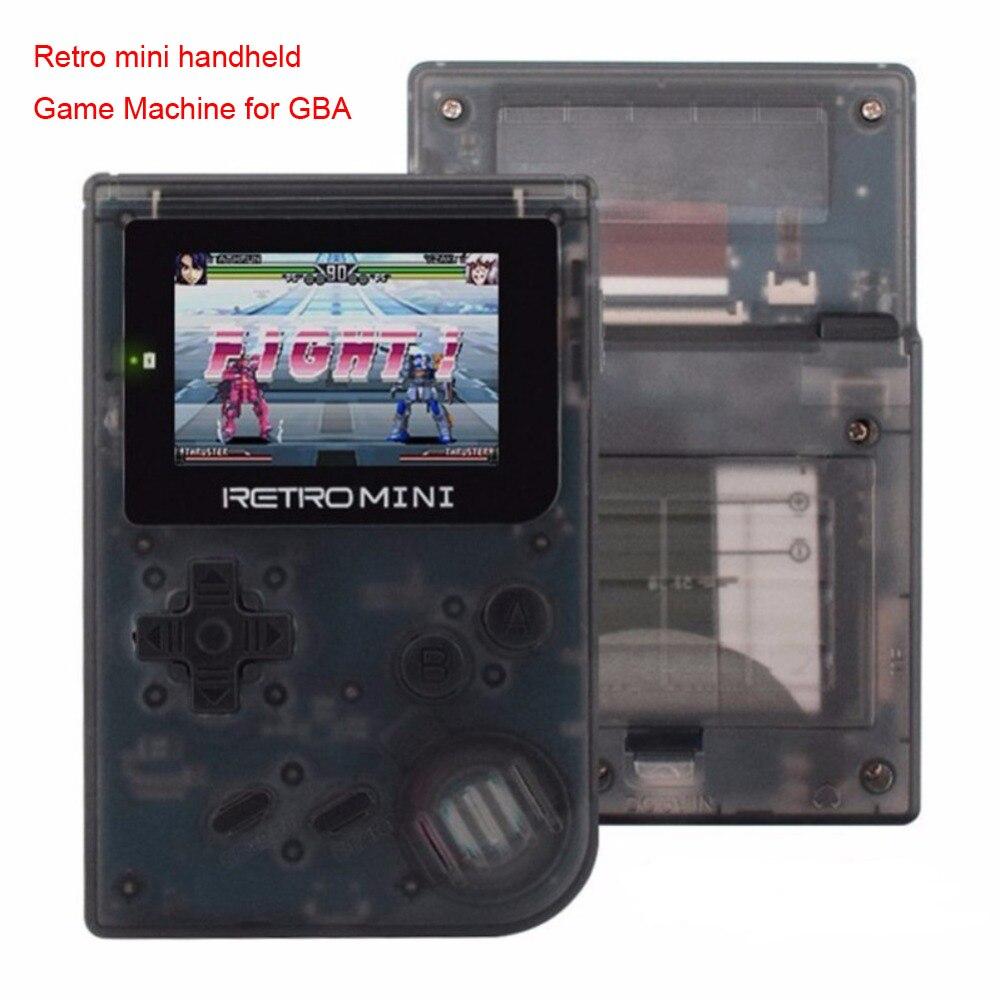 Rétro mini console de jeu Portable Portable Jeu Joueurs 32 Peu Classique Jeux pour GBA