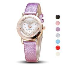 1 pc Rhinestone Mulheres lady pulseira de Relógio relógios Vestido Pulseira Quartzo relógios de pulso Ocasional vida à prova d' água PU LEATHER analógico H5