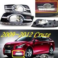 car bumper lamp for Chevrolet Cruze daytime light,DRL,2009 2010 2011 2012 2013year LED,daylight Cruze fog light