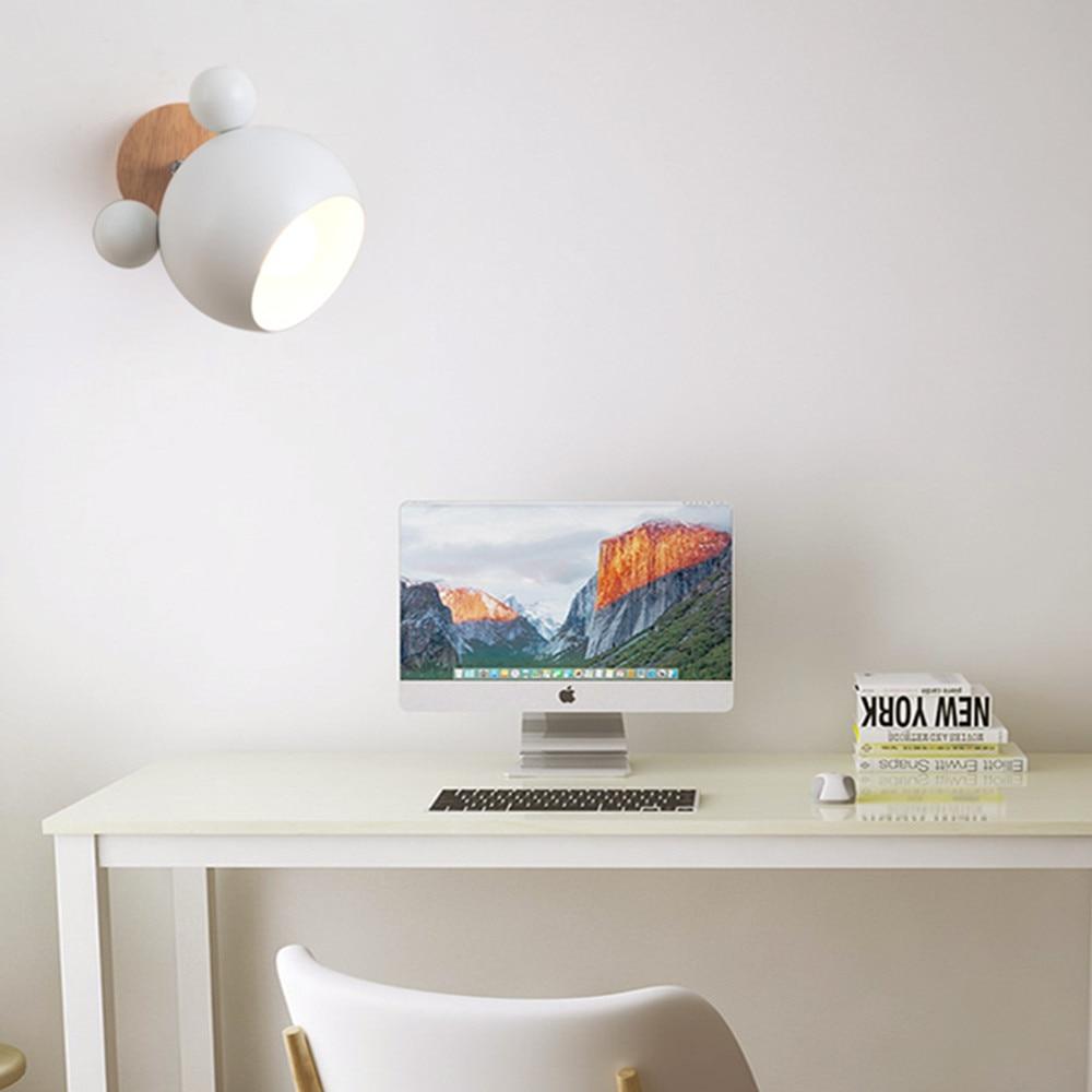Wooden Modern Nordic Wall light