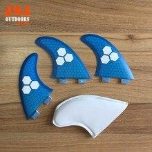 Thruster будущее соты ласты фтс плавник fcs стекловолокна серфинга бесплатная доставка