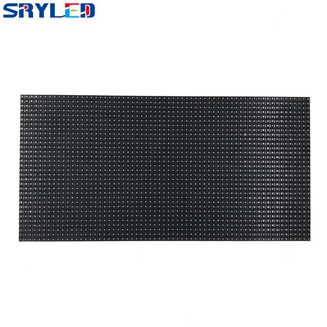 64x32 พิกเซลแผง 320x160MM สีดำ LED โคมไฟ P5 ในร่ม SMD2121 P5 สี LED โมดูล 1/16 Scan