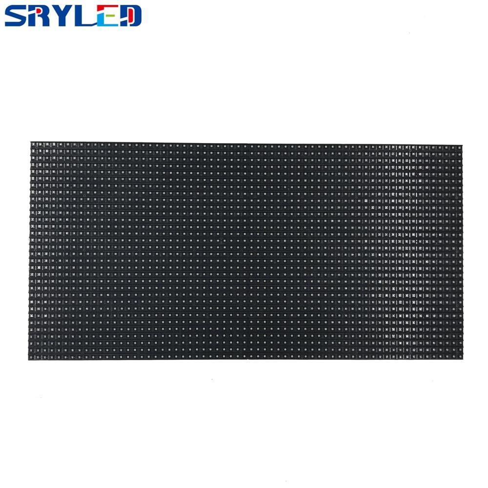 64x32 Pixels Panel 320x160MM Black LED Lamp P5 Indoor SMD2121 P5 Full Color LED Module 1/16 Scan