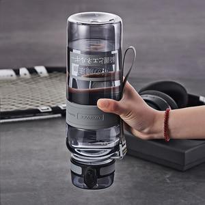 Image 5 - בקבוקי מים 500/1000ml BPA משלוח אכר חיצוני ספורט סיור לשתות בקבוק נייד Leakproof Ecofriendly פלסטיק פירות תה בקבוק