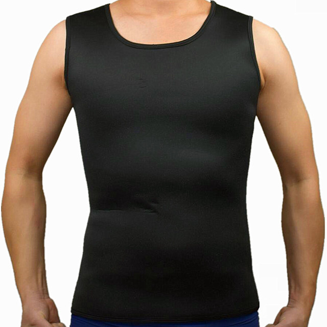 ecd24601b1216 New Hot Shapers Mens Compression Slimming Shirt Neoprene Shapewear Waist  Trainer Corset Body Shaper Vest Fat Burning Weight-Loss