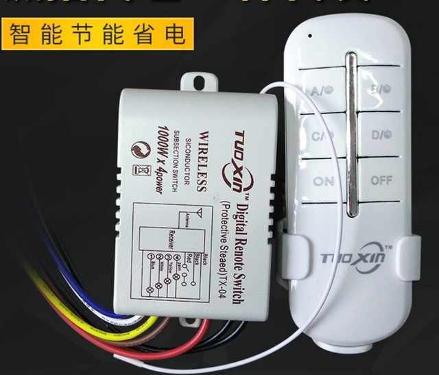 Aliexpresscom Buy 4 Way Channel Remote Wireless Switch ac85 265V