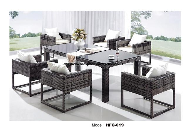 Rieten Balkon Meubels : Creatieve outdoor rieten set graden rotan meubels leisure outdoor