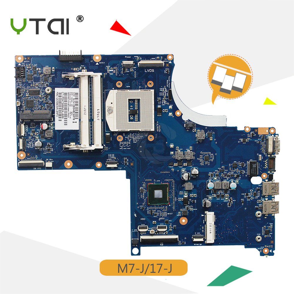 YTAI Envy M7-J 17-J Mainboard for HP Envy M7-J 17-J Laptop Motherboard SPS:720265-001 PGA947 HM87 17SBU-6050A2549501-MB-A02 10pcs lot 100% htc m7 801e for htc one m7 801e