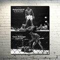 КОНОР Макгрегор Мухаммед Али ММА UFC Мотивационные Шелковый Плакат 24x30 дюймов Картинки Для Гостиной Декор Большой Подарок