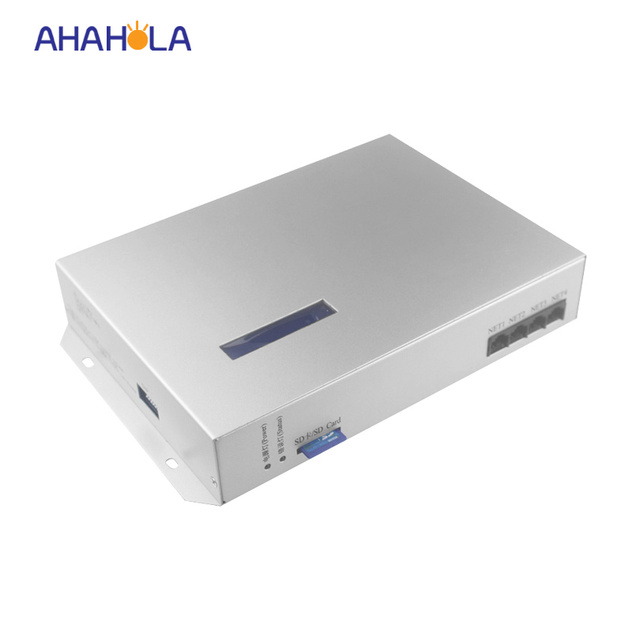 Output 8 port,Max Control 8192 pixel Online T300k Rgb LED Controller Programmable Ws2811 Ws2801 6803 LPD8806 IC