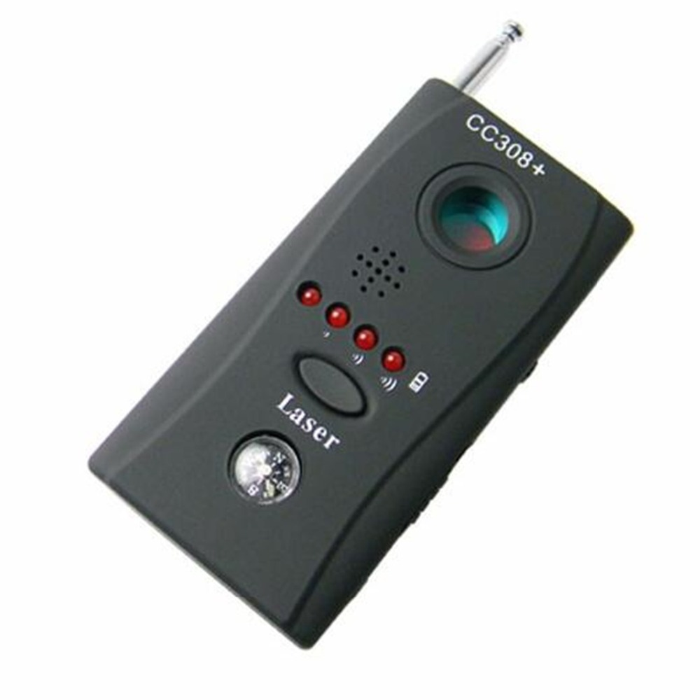 RF Signal Camera Audio Bug Detector Locator Tracker Multi-detector Full-range All-Round Wireless Hidden Camera Detector CC308+
