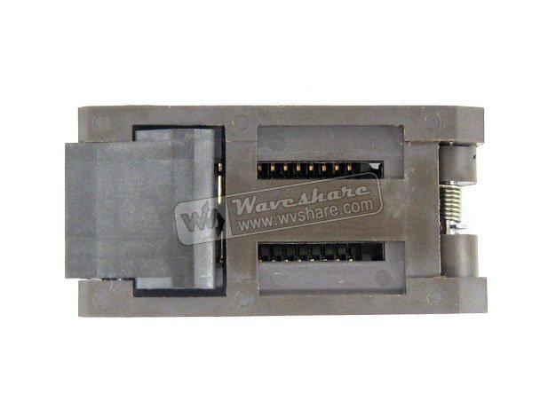 module SOP28 SO28 SOIC28 FP-28-1.27-07 Enplas IC Test Burn-In Socket Programming Adapter 7.9mm Width 1.27mm Pitch module so32 soic32 sop32 to dip32 a 652d032221x wells ic programming adapter test burn in socket 1 27mm pitch 7 55mm width