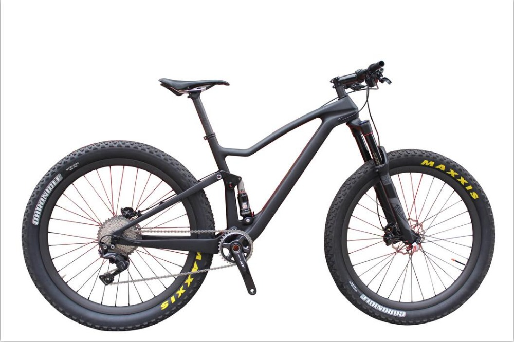Enduro bikes 29″ Complete Carbon mtb Bicycle Shi-mano XT 29er full suspension Carbon Mountain Bike