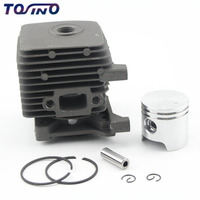 34mm Cylinder Piston Kit For Stihl FS38 FS45 FS55 Lawn mower,grass trimmer,brush cutter spare parts Cylinder Assy sets