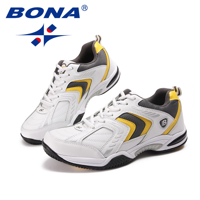 Image 5 - BONA New Classics Style Men Tennis Shoes Lace Up Men Athletic 