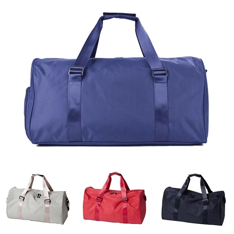 1Pc Large Capacity Gym Bags Waterproof Training Shoulder Bag Travel Fitness Sports Yoga Bags Outdoor Sport Tote Handbag