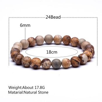 Tiger Eye Natural Stone Bead Bracelets 1