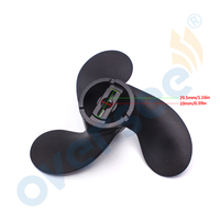 Outboard Propeller 3x7 1 2x6 Black 58110 91J00 019 Propeller For Suzuki OEM Outboard Parts