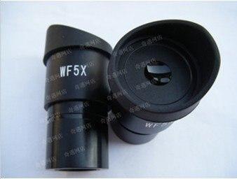 Oculaire WF5X/20mm pour lentille optique de Microscope stéréo avec taille de montage 30.5mm