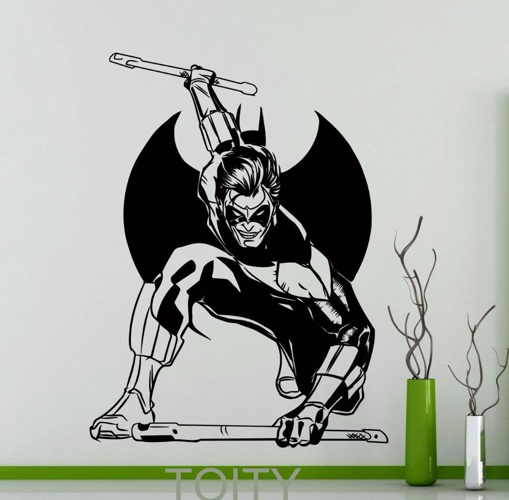 On Line Get Barato Decora Ccedil Atilde O Do Quarto Adolescente  ~ Decoração Quarto Teen Com Quarto De Super Herois
