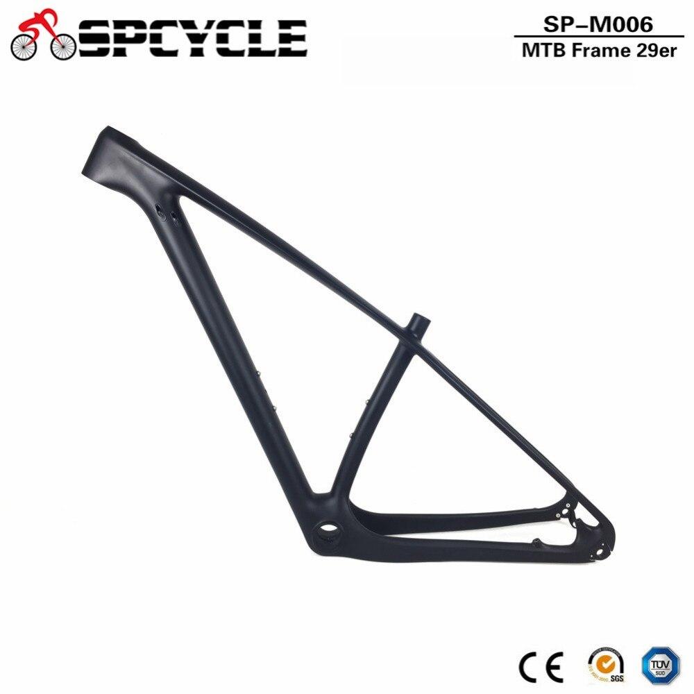 Spcycle 29er marco del MTB del carbón 27.5er montaña marco 650B ...