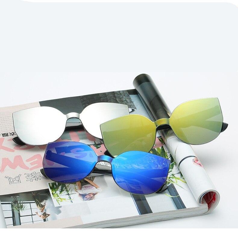 UCOOL 2018 Fashion Square Rimless Sunglasses Women Vintage Brand Designer Coating Sun Glasses UV400 (3)