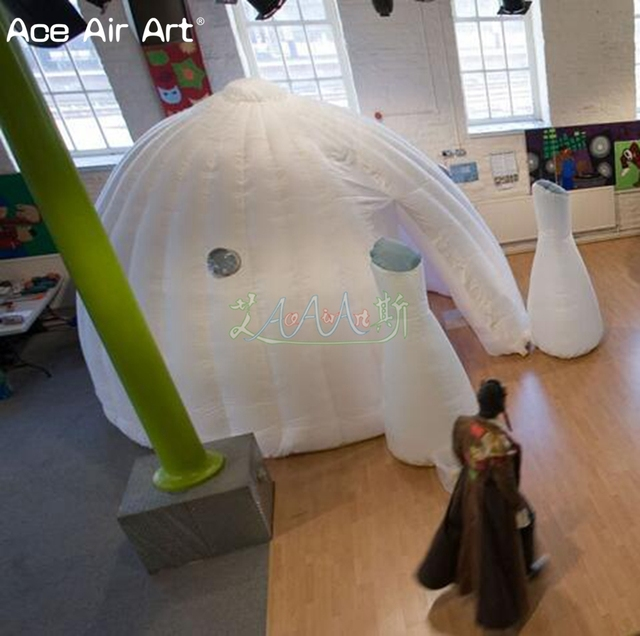 More choices inflatable dome igloo theatre settrade show tentmeeting and pop up teaching classroomhome planetarium for sale & More choices inflatable dome igloo theatre settrade show tent ...