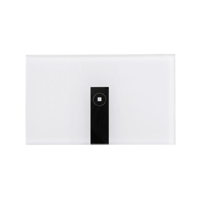 цена на US 1 Gang AC90-250V Tempered Glass Wireless WIFI Remote Control Smart Home Touch Sensor Switch Panel for Smart Phone