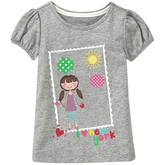 719067af9854 Free Ship 18 Months 6T Baby Girls T Shirt Summer Cute Cartoon T ...