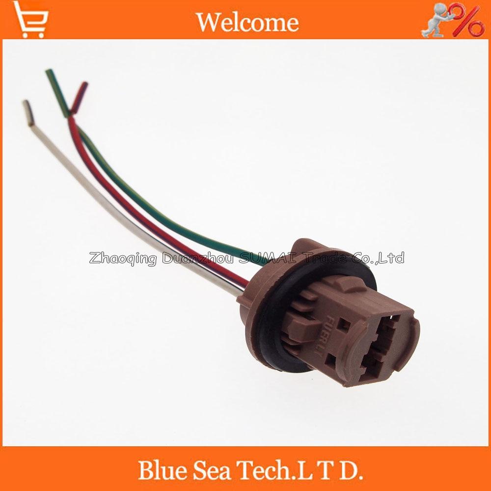 car parts honda jazz h4 bulb holder wiring loom 3 pin car headlamp connector [ 1000 x 1000 Pixel ]