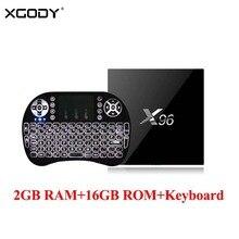 XGODY X96 TV BOX 2GB 16GB font b Android b font 6 0 S905X Quad Core