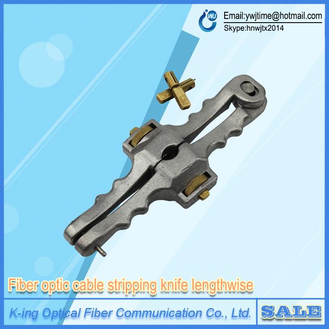 Envío gratis Apertura Longitudinal Cuchillo Longitudinal Cable Vaina Cortadora De Fibra Óptica SI-01 Pelacables cortador de Cable