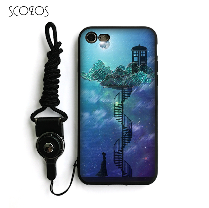 SCOZOS Dr Who Tardis doctor who Silicone TPU Phone Case Cover For IPhone X 5 5S Se 6 6S 7 8 6 Plus 6S Plus 7 Plus 8 Plus #nb