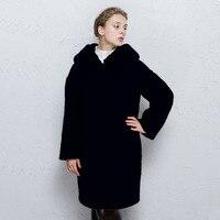 Arlene Sain Custom Women The New Women S Wear Fur Type Cocoon Easing Integration Fur Coat