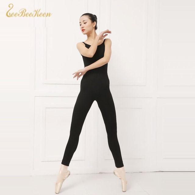 Women Warmers Long Latin/Ballet Dance Pants Adult Black Bodysuit Ballet Pants Fitness Ballet Tights for Women Practice Gym Trous